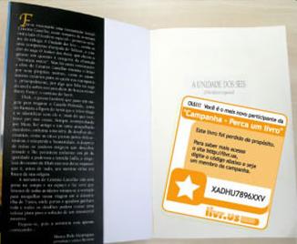 Etiqueta Perca um Livro