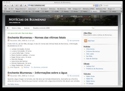 Noticias de Blumenau