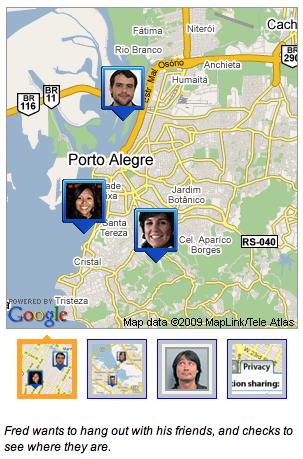 Tecnologias móveis permitem localizar você e seus amigos